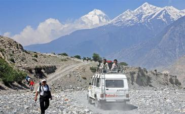 Muktinath tour by jeep