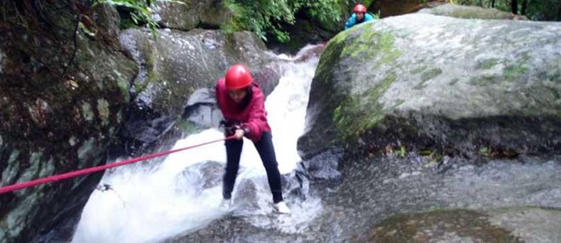 Canyoning at Sundarijal