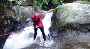 Canyoning at Sundarijal